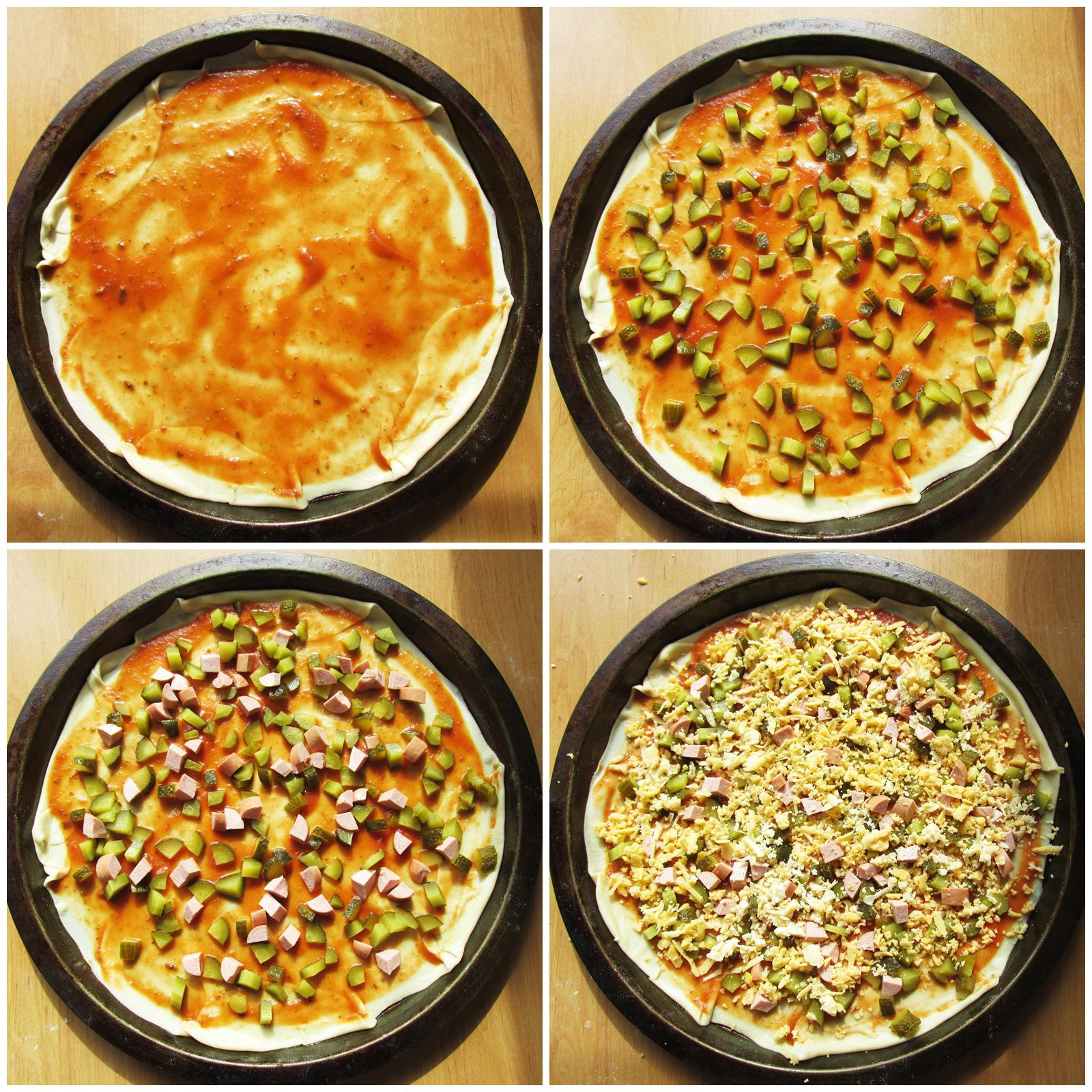 Начинка для пиццы фото рецепт пошаговый