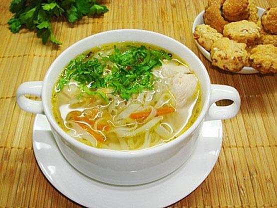 Домашний суп с курицей рецепт с фото пошагово